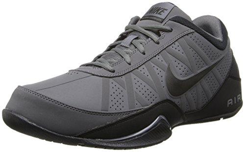 Nike Mens Air Ring Leader Basketball Shoe (Low) Dark Grey/Black 11