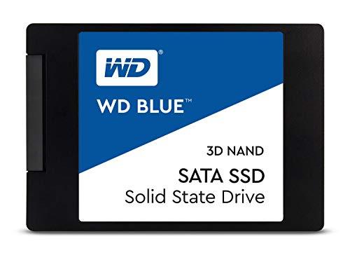 WD Blue 3D NAND 500GB Internal PC SSD - SATA III 6 Gb/s, 2.5'/7mm, Up to 560 MB/s - WDS500G2B0A