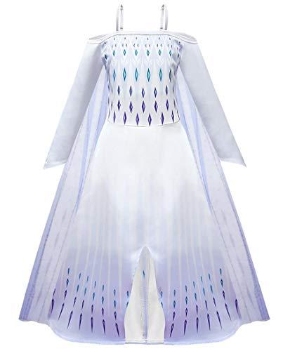 Snow Flying Girls Fancy Party Dress Costume Girls Cute Princess Dress Costume