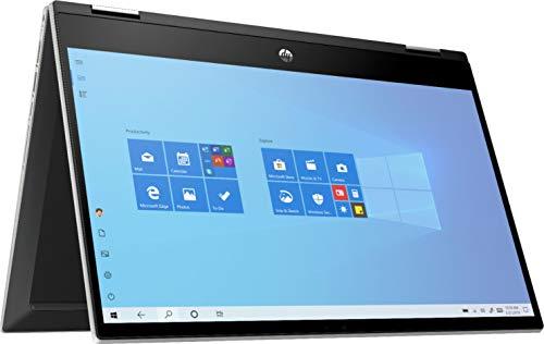 HP 2020 Newest Pavilion X360 2-in-1 Convertible 14' HD Touch-Screen Laptop, 10th Gen Intel Core i3-1005G1, 8GB Ram, 128GB Ssd, Wifi, Webcam, Win 10 S