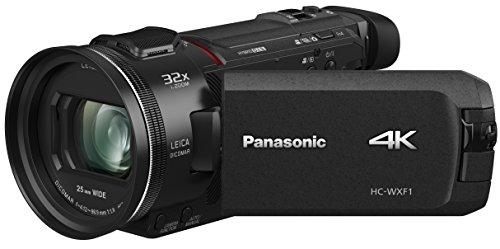 Panasonic HC-WXF1 4K Cinema-like Camcorder, 24x Leica Dicomar Lens, 1/2.5' Bsi Sensor, Three O.I.S. Stabilizer Systems