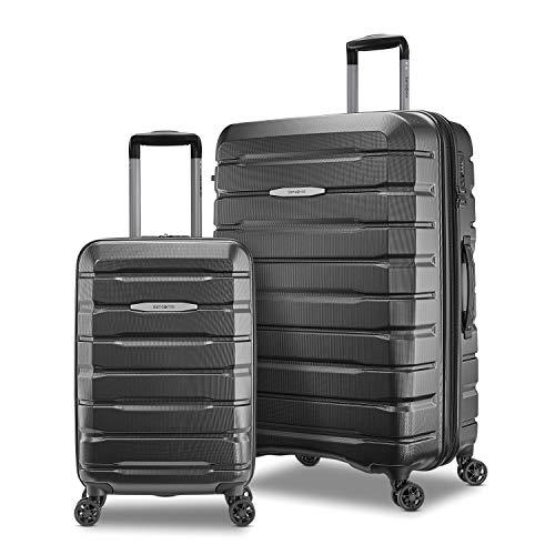 Samsonite Tech 2.0 Hardside Expandable Luggage with Spinner Wheels, Dark Grey, 2-Piece Set (21/27)
