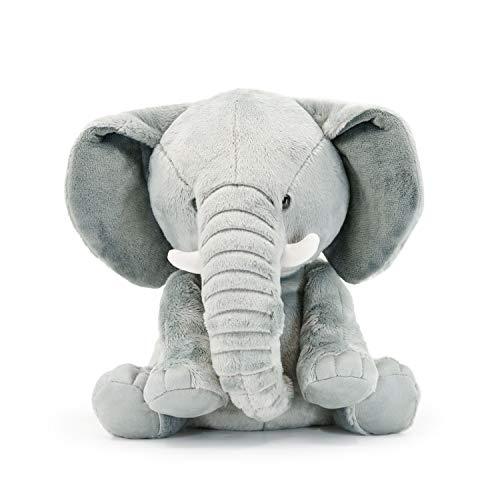 SimpliCute Elephant Plush - Adorable Elephant Stuffed Animal Toy for All Ages