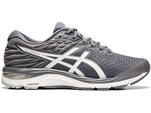ASICS Men's Gel-Cumulus 21 Running Shoes, 10.5W, Metropolis/White