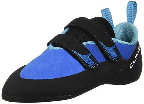 Climb X Rave Strap Climbing Shoe 2018 (10, Blue)