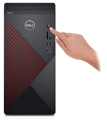 2021 Newest Dell Vostro 5000 Series 5880 Tower Business Desktop Computer, 10th Gen Intel Core i5-10400 6-Core Processor, 16GB RAM, 256GB SSD + 1TB HDD, HDMI, DisplayPort, DVD, Wi-Fi, Windows 10 Pro