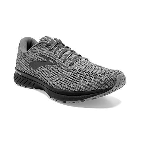 Brooks Mens Revel 3 Running Shoe - Primer/Ebony/Black - D - 13.0