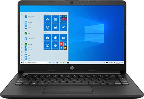 2020_HP 14 14.0' WLED-Backlit Display Laptop, AMD Athlon Silver 3050U Up to 3.2GHz (Beats i5-7200U), 4GB DDR4 RAM, 128GB SSD, 802.11AC WiFi+ Bluetooth 4.2, Type-C, HDMI, Black, Windows 10