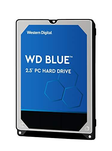 WD Blue 2TB Mobile Hard Drive - 5400 RPM Class, SATA 6 Gb/s, 128 MB Cache, 2.5' - WD20SPZX