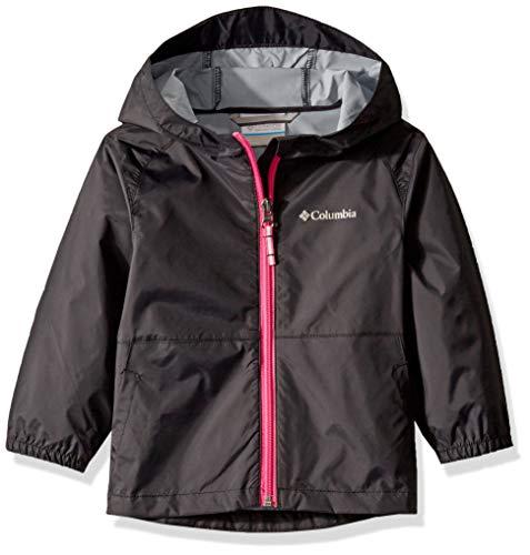 Columbia Girls' Big Switchback II Jacket, Black, Medium