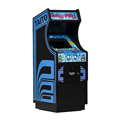 quarter arcades Official Bubble Bobble 1/4 Sized Mini Arcade Cabinet by Numskull – Playable Replica Retro Arcade Game Machine – Micro Retro Console