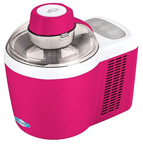 Maxi-Matic Freezing Self-Refrigerating Ice Cream Maker, Frozen Yogurt, Sorbet, Gelato Treat, 1.5 Pint, EIM-700BR