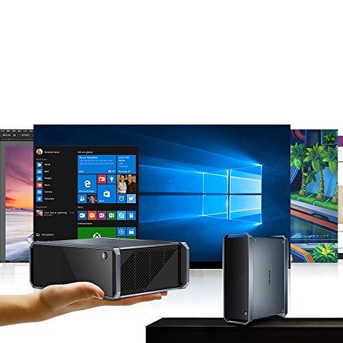 CHUWI CoreBox Windows 10 Mini PC,Intel Core i5 Mini Desktop pc, 8GB DDR3 256GB SSD,Expandable 2TB 2.5 Inch HDD, 2.4GHz/5GHz Dual WiFi/Gigabit Ethernet / 4K Decoding/BT4.2