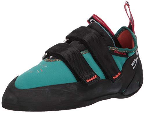 Five Ten Women's Anasazi LV Climbing Shoe,Teal,4.5 M US