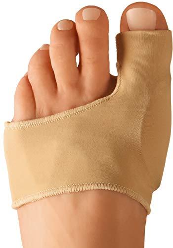 Dr. Frederick's Original Bunion Sleeves - 2 Pieces - Bootie Bunion Cushions - Gel Pad Bunion Relief Splints for Women & Men - Large - W7-14 | M5-13