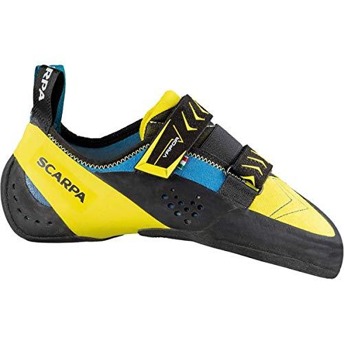 SCARPA Vapor V Climbing Shoe - Men's Ocean/Yellow 41