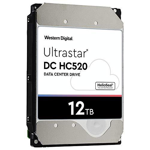 HGST - WD Ultrastar DC HC520 HDD | HUH721212ALE600 | 12TB 7.2K SATA 6Gb/s 256MB Cache 3.5-Inch Helium Data Center Internal Hard Disk Drive