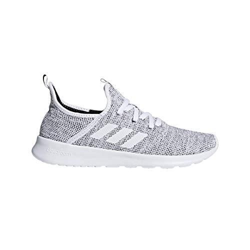 adidas Performance Women's Cloudfoam Pure Running Shoe, White/White/Black, 10 M US