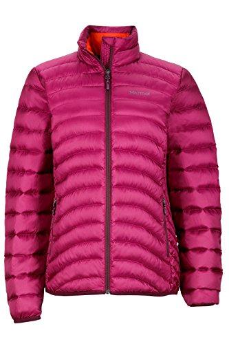 Marmot Women's Aruna Down Puffer Jacket, Fill Power 600, Magenta, X-Large