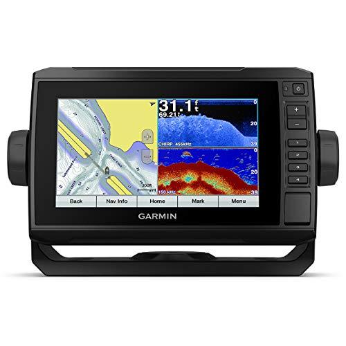 Garmin echoMAP Plus 72cv 7' Chartplotter and Fishfinder Combo with GT20-TM Transducer (010-01892-01)