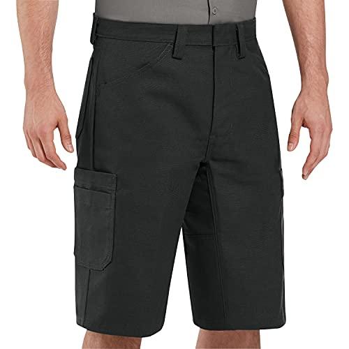 Red Kap mens Shop Short ,Black ,44x13