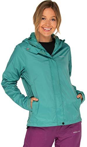 Arctix Women's River Rain Jacket, Teal, Medium