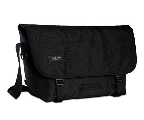 TIMBUK2 Classic Messenger Bag, Jet Black, Medium