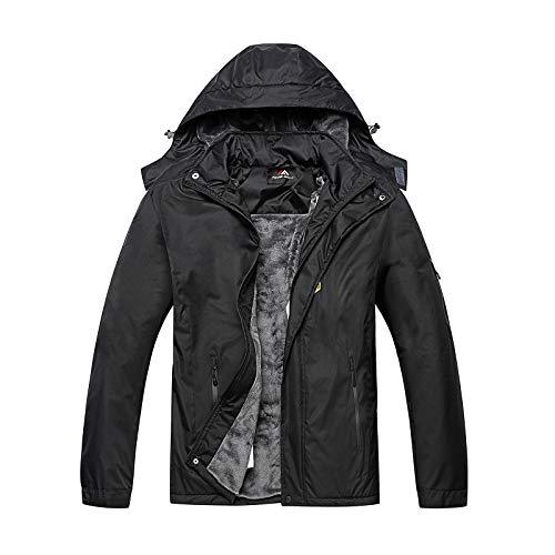 Men's Mountain Ski Jacket Windproof Winter Warm Snow Coat Waterproof Rain Jacket