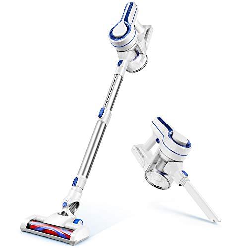 APOSEN Cordless Vacuum 10Kpa Extension Wand 35min-Running 4 in 1 Handheld Vacuum Cleaner Lightweight & HEPA&Sponge Filtration H120