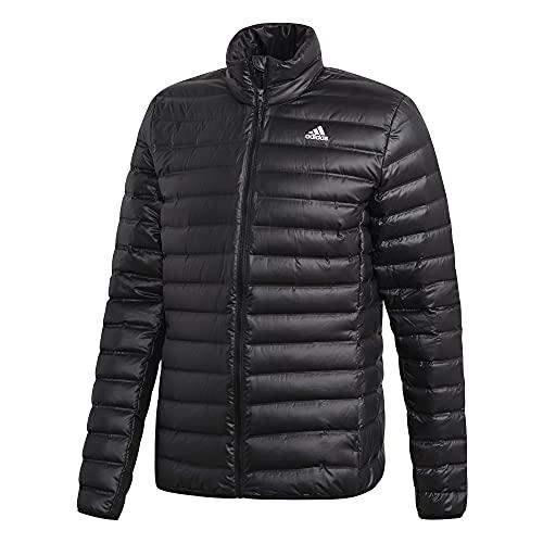 adidas Men's Standard Varilite Down Jacket, Black, Large