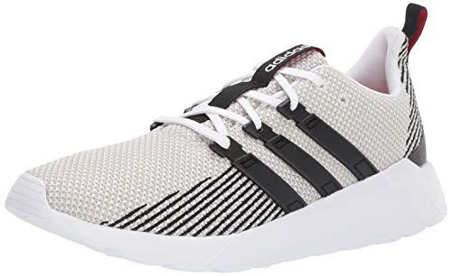 adidas Men's Questar Flow, Black/raw White, 11 M US