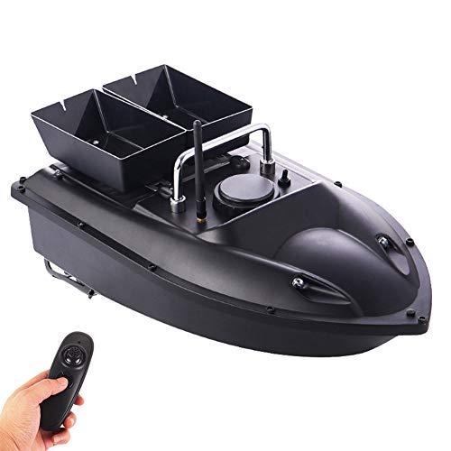 Smart Fishing Bait Boat, Dual Motor 500M Range Remote Control Fishing Feeder Toy RC Fishing Boats Fishing Tools Speedboat
