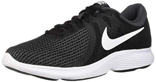 Nike Men's Revolution 4 Running Shoe, Black/White-Anthracite, 11.5 Regular US