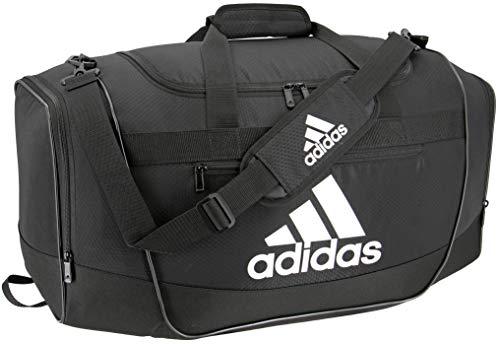 adidas Defender III medium duffel Bag, Black/White