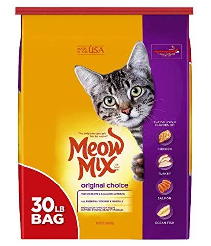 Meow Mix Original Choice Dry Cat Food, 30 Pounds