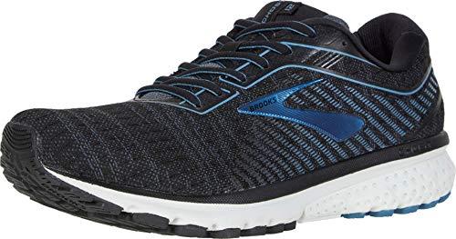 Brooks Ghost 12 Running Shoe Black/Grey/Stellar 11 D (M)