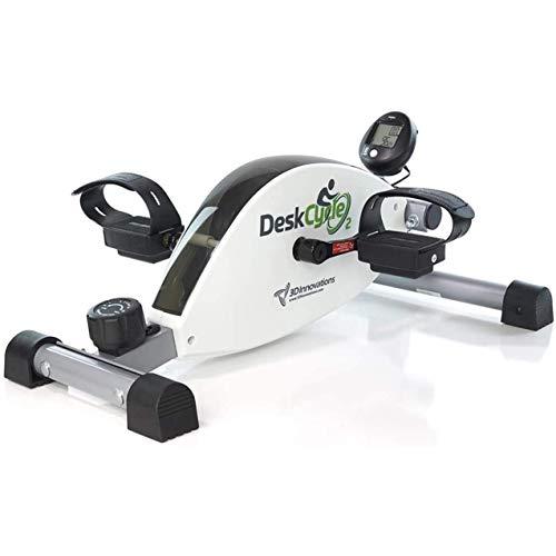 DeskCycle 2 Under Desk Cycle, Adjustable Legs Pedal Exerciser - Stationary Mini Exercise Bike Peddler - Office, Home Equipment