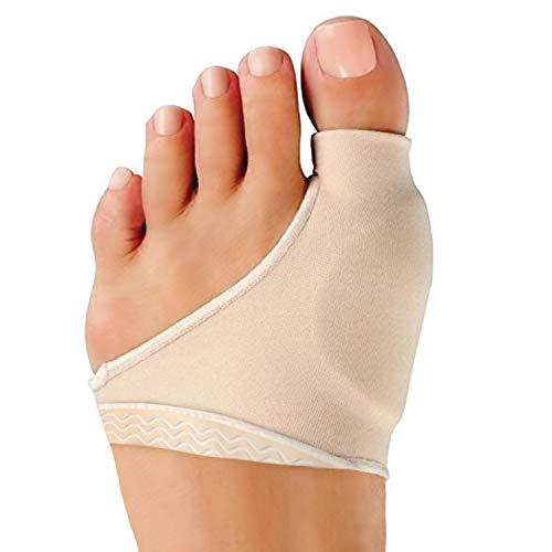 Bunion Corrector for Women & Men - Bunion Pads Relief Orthopedic Sock Cushion Sleeve Splint Gel Protector Support Brace w/ Non-Slip Grip - Bunion Remover Toe Guard - Fix Hallux Valgus Med. 2 Pcs