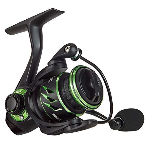 Piscifun Viper X Spinning Fishing Reel 500-5.2:1 High Speed Fishing Reel, 10+1BB, Lightweight Ultra Smooth Spin Reels, Carbon Fiber 33 LB Max Drag