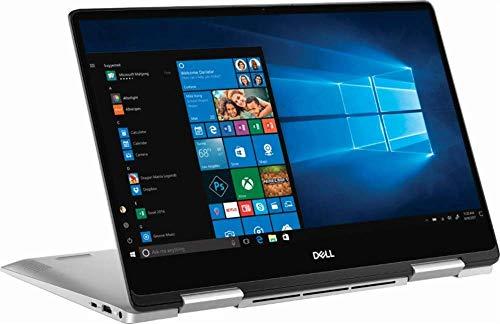 2019 Dell Inspiron 7000 13.3' FHD Touchscreen 2-in-1 Laptop, Intel Quad Core i5-8265U Upto 3.9GHz, 8GB DDR4 RAM, 256GB SSD, Backlit Keyboard, Fingerprint Reader, USB-C, HDMI, Windows 10