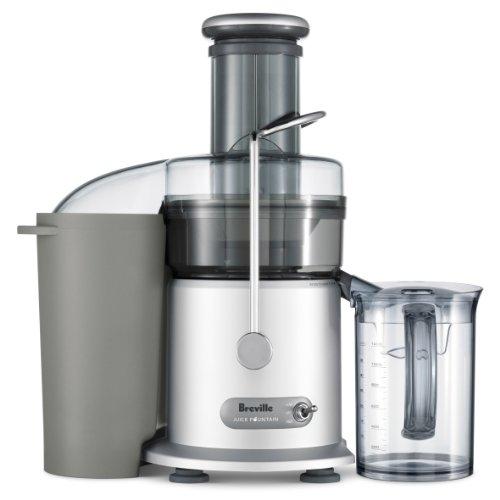 Breville RM-JE98XL Juice Fountain Plus 850-Watt Juice Extractor (Renewed)