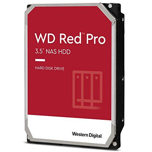 Western Digital 4TB WD Red Pro NAS Internal Hard Drive - 7200 RPM Class, SATA 6 Gb/s, CMR, 256 MB Cache, 3.5' - WD4003FFBX