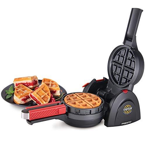 Presto 03512 Stuffler Stuffed Waffle Maker, Belgian