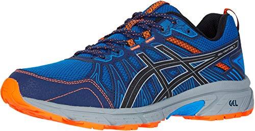 ASICS Men's Gel-Venture 7 Running Shoes, 10.5M, Electric Blue/Sheet Rock