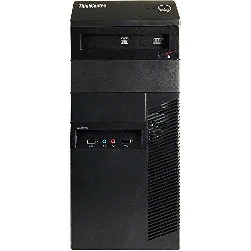 Lenovo ThinkCentre M82 Tower Flagship Business Desktop Computer (Intel Quad-Core i5 3.2GHz, 8GB RAM, 2TB HDD + 120GB SSD, DVD, VGA, DisplayPort, WiFi, Windows 10 Professional) (Renewed)