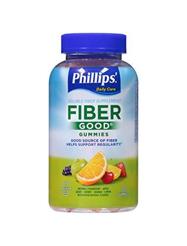 Phillips' Fiber Good Gummies, Daily Fiber Supplement, 90 Count