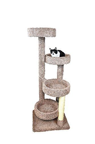 New Cat Condos Cat Tree, Brown
