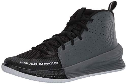 Under Armour Men's Jet 2019 Basketball Shoe Running, Black (001)/Pitch Gray, 10.5