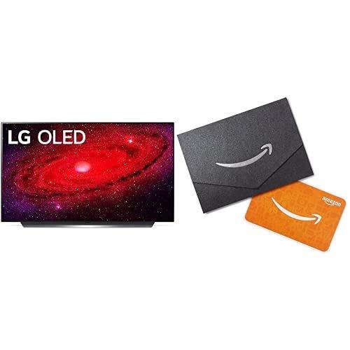 LG OLED48CXPUB Alexa Built-in CX 48' 4K Smart OLED TV (2020) with Free $50 Amazon Gift Card