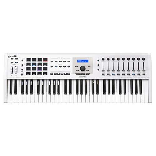 Arturia KeyLab MKII 61 Professional MIDI Controller and Software (Black)